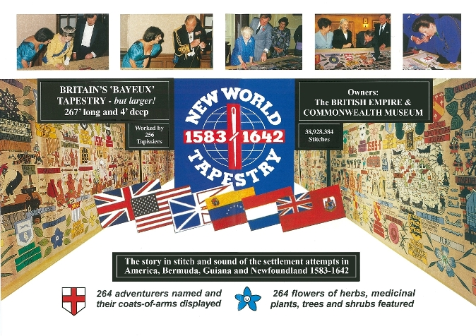 new world tapestry leaflet photo